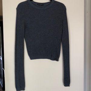 Brandy Melville crop sweater.